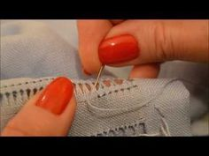 Ponto 1°, aula 4 Finalizando o ponto - YouTube Embroidery Stitches Tutorial, Hand Embroidery Patterns, Embroidery Techniques, Sewing Patterns, Hem Stitch, Drawn Thread, Hardanger Embroidery, Creative Embroidery, Yarn Bombing