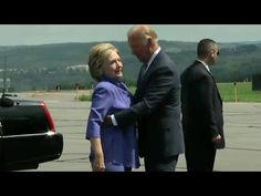 Watch Joe Biden give an endless hug to Hillary Clinton - YouTube