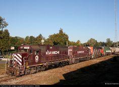 RailPictures.Net Photo: KRR 3805 Kiamichi Railroad EMD GP35 at Idabel, Oklahoma by David Hawkins - KB5WK
