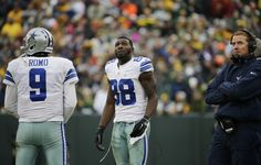 Dallas Cowboys wide receiver Dez Bryant (88) watches the scoreboard as officials review a catch by B... - (AP Photo/Nam Y. Huh