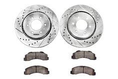 2009 F150 Power Stop Z36 Front Towing Brake Kit K5336 36 In 2020 Front Brakes F150 Ceramic Brake Pads