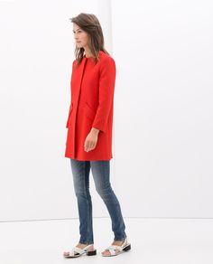 Zara Structured Coat