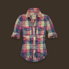 Lovin' this plaid shirt from Hollister!