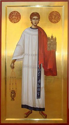 Byzantine Icons, Byzantine Art, Religious Images, Religious Icons, Early Christian, Christian Art, Church Icon, Pictures Of Jesus Christ, Saint Stephen