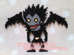 Death Note perler beads by Ryoko
