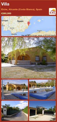 Villa in Elche, Alicante (Costa Blanca), Spain ►€260,000 #PropertyForSaleInSpain