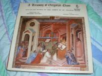A TREASURY OF GREGORIAN CHANT Vol. III Vinyl Record Free Shipping