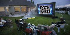 Have you ever played Rockband in your back yard? #Gaming #Rockband
