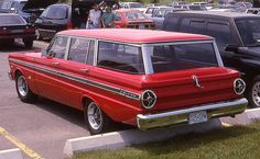 Always wish we had a station wagon.  My friend, Marianne, had one. Her mom took us on Girl Scout outings in it.  Always a fight to sight in the far back.  No seat belts either!