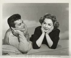 "Tony Curtis and Piper Laurie ""No Room for the Groom"" (1952)"