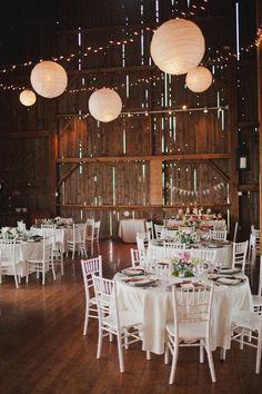 Omg my dream. I've always wanted a rustic barn reception