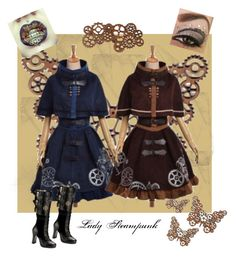 """""""Lady Steampunk"""" by loadsagifts ❤ liked on Polyvore"""