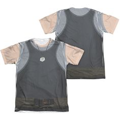 BSG (NEW)/TANK TOP (FRONT/BACK PRINT)-ADULT POLY/COTTON S/S TEE-WHITE