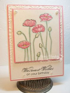 CC426....Birthday Wishes by justcrazy - Cards and Paper Crafts at Splitcoaststampers