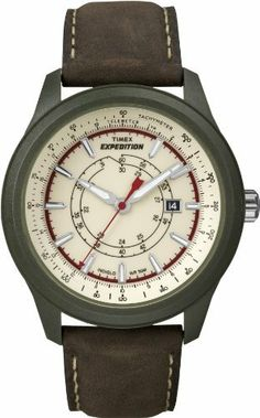Timex Men's T49921 Expedition Camper Green Case Natural Dial Brown Leather Strap Watch Timex, http://www.amazon.com/dp/B0085RXDFE/ref=cm_sw_r_pi_dp_1N.xqb0SF1EZ0