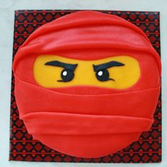 Lego ninjago cake i am really considering making this for for Ninjago zimmer deko