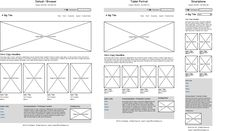 Home Page -- wireframes, rwd, responsive web design, responsive design
