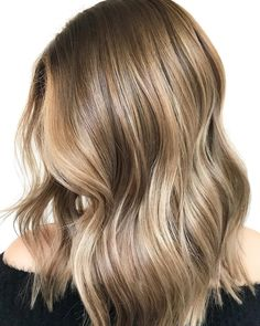 """@megahairmaniac on Instagram: """"From overly blonde to seamless BRONDE! This advanced technique of low lighting, balayaging, and…"""""""