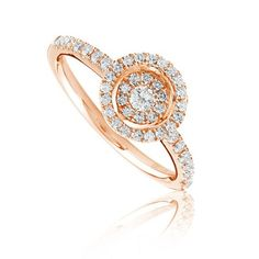 Oona fashion diamond ring Availability: In stock Truly notable this fashion diamond ring feature 45 round hand picked ideal cut diamonds set in 14K Gold, total weight 0.41ctw  *Metal type  * Required Field $829.24