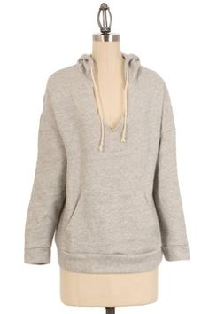 Amazon.com: Romeo & Juliet Couture Jersey Work-out Hoodie in Heather Grey: Clothing