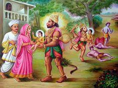 One of the Largest religious portal of Lord Swaminarayan and Information about Shree Swaminarayan Temple Cardiff and its History Bhagavata Purana, Sri Rama, Tanjore Painting, Ganesha Art, Radha Krishna Pictures, Lord Vishnu, Hanuman, Indian Paintings, Sanskrit