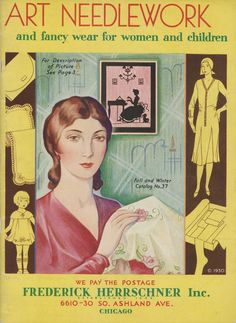 1930 Vintage Herrschners Fall & Winter Catalog