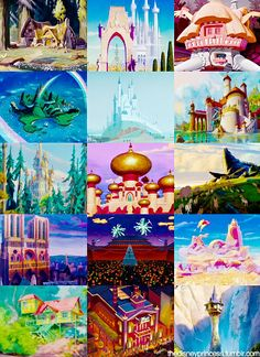 Disney houses give you unrealistic expectations about houses.