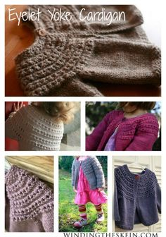 SEVEN Free Knitting Patterns for Toddler Sweaters   Winding the Skein