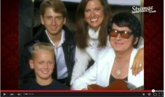 Roy and Barbara Orbison with sons Roy Jr. and Alex. Travelling Wilburys, American Bandstand, Roy Orbison, Beautiful Voice, George Harrison, Popular Music, Celebs, Celebrities, Elvis Presley