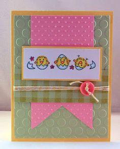 DeNami Spring Hatching Chickies card by @Tina Milbourn