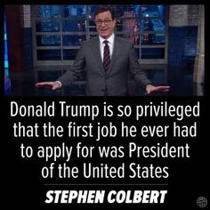 Funniest Trump Transition Memes: Colbert on Trump and Privilege
