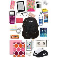 Back To School Supplies For Teens, College School Supplies, Cute School Supplies, Middle School Hacks, High School Hacks, Life Hacks For School, School Emergency Kit, School Survival Kits, School Goals