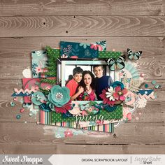 Digital Scrapbook page by SeattleSheri using Blossom by Kristin Cronin-Barrow