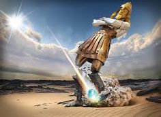 God gave Nebuchadnezzar king of Babylon a dream of a man that showed the succession of world empires from the time of Babylon through to our day when Jesus Christ (represented as a stone) will smite the image on its feet and destroy it. Psalm 133, End Times Prophecy, Seventh Day Adventist, Bible Pictures, Jesus Is Coming, Bible Truth, Jehovah's Witnesses, Bible Stories, The Book