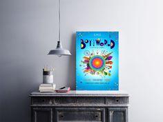 """Placa decorativa """"Filme Boy & the World""""  Temos quadros com moldura e vidro protetor e placas decorativas em MDF.  Visite nossa loja e conheça nossos diversos modelos.  Loja virtual: www.arteemposter.com.br  Facebook: fb.com/arteemposter  Instagram: instagram.com/rogergon1975  #placa #adesivo #poster #quadro #vidro #parede #moldura"""