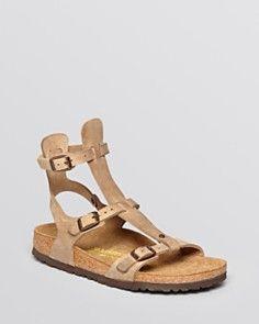 Birkenstock Flat Gladiator Sandals - Chania