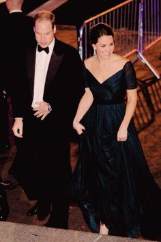 The Duke and Duchess of Cambridge arrive for St Andrew's 600th Anniversary dinner at the Metropolitan Museum of Art in New York | December 9th 2014.