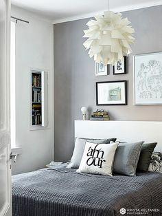 MRS JONES: HENRIKAN KOTONA Decor, Room, Beautiful Bedrooms, Interior, Home Bedroom, Bedroom Interior, Black And White Decor, Home Decor, Interior Design