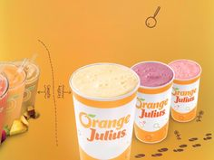 These homemade delicious orange frothy drinks are just like the original. Plus the great thing about smoothies is you don't need an exact recipe. Orange Julius Recipe Original, Dairy Queen, Fruit Smoothies, Healthy Tips, Gluten Free, Homemade, The Originals, Orange Things, Eat