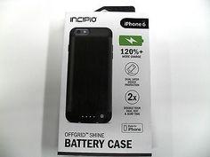 Incipio - offGRID SHINE External Battery Case for Apple iPhone 6 6s - Black | eBay