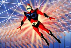 Robot Cartoon, Cartoon Art, Devilman Amon, Japanese Superheroes, Japanese Robot, Mecha Anime, Super Robot, Classic Cartoons, Manga Comics