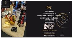 D Q: Receta presentada por José Ramón González para la competición de coctelería #WorldClass2015 con Ketel One Vodka. Podrás probarla en Calle Barrainkua, 1