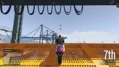 Grand Theft Auto V PS4 STUNT RACE