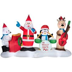 animated musical airblown band walmart - Christmas Inflatables At Walmart