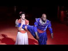 Aladdin on Broadway 2014 Adam Jacobs (Aladdin) JONATHAN FREEMAN - Jafar. MICHAEL JAMES SCOTT - Genie - YouTube
