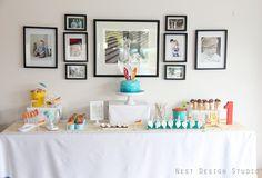 Retro Beach Party: Summer Birthday Ideas | Chic & Cheap Nursery™