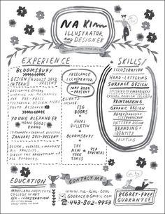 Image result for illustrators resume