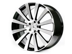 "BK Racing Flow Form BK660 20"" Black and Polished VW T5"