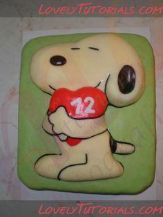Wilton Snoopy Cake Pan Instructions