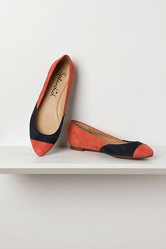 Ilia Suede Ballerinas #Anthropologie